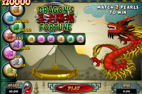 dragons fortune microgaming